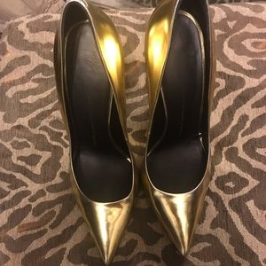 Giuseppe Zanotti Chrome Heels